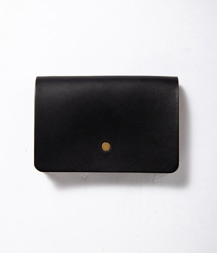 forme (フォルメ)  / Hand Wallet「Liscio Black × SHF Reverse」