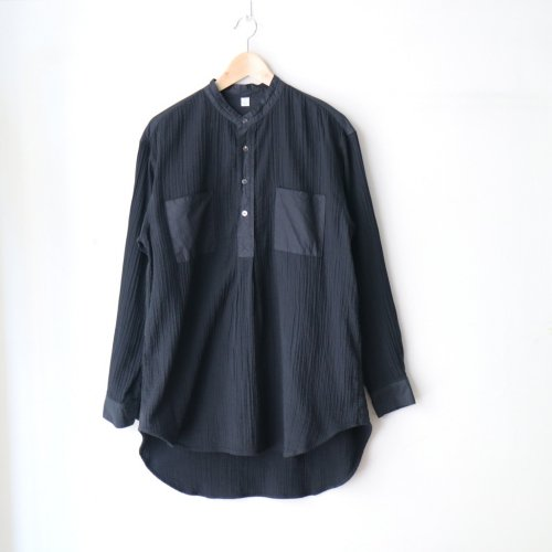 <img class='new_mark_img1' src='//img.shop-pro.jp/img/new/icons6.gif' style='border:none;display:inline;margin:0px;padding:0px;width:auto;' />COTTLE / ZEN WHISPERING SEA COTTON SHIRT「Black」