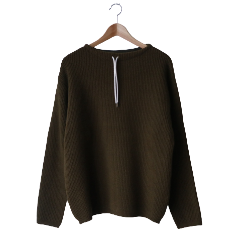<img class='new_mark_img1' src='https://img.shop-pro.jp/img/new/icons6.gif' style='border:none;display:inline;margin:0px;padding:0px;width:auto;' />FUJITO / Commando Sweater「Olive Green」