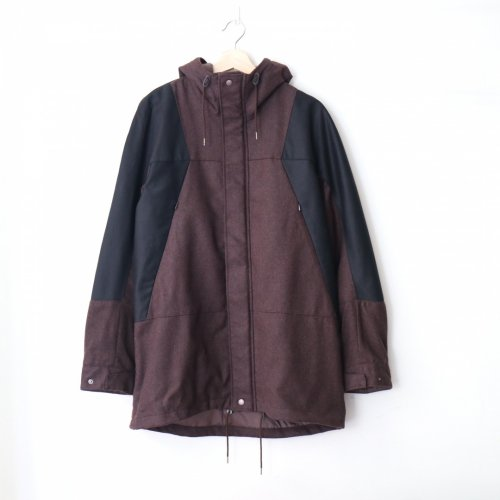<img class='new_mark_img1' src='//img.shop-pro.jp/img/new/icons6.gif' style='border:none;display:inline;margin:0px;padding:0px;width:auto;' />FUJITO / Mountain Parka「Brown × Black」