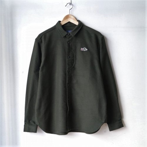<img class='new_mark_img1' src='//img.shop-pro.jp/img/new/icons6.gif' style='border:none;display:inline;margin:0px;padding:0px;width:auto;' />STAY HUNGRY / Aborre Overshirt 「Olive」