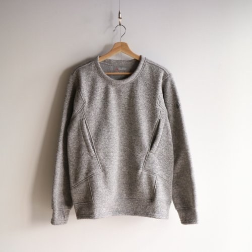 <img class='new_mark_img1' src='//img.shop-pro.jp/img/new/icons6.gif' style='border:none;display:inline;margin:0px;padding:0px;width:auto;' />Poutnik / Sage Woolly Sweatshirts 「Light Grey」