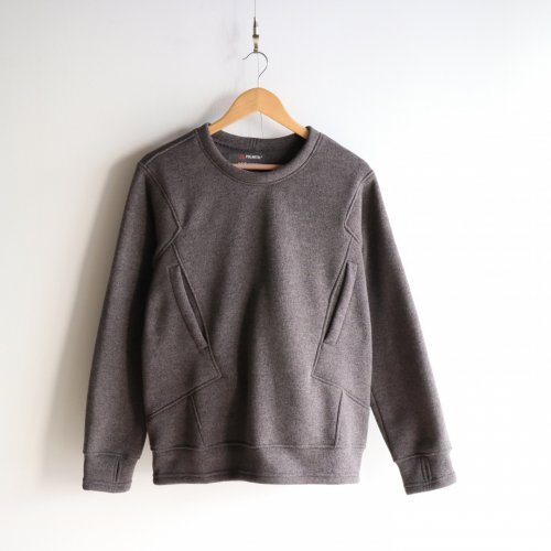 <img class='new_mark_img1' src='//img.shop-pro.jp/img/new/icons6.gif' style='border:none;display:inline;margin:0px;padding:0px;width:auto;' />Poutnik / Sage Woolly Sweatshirts 「Ash Grey」