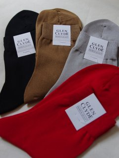 GLEN・CLYDEE(グレングライド)ソックス(made in japan)【メール便指定可能】