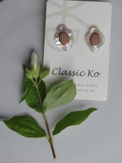 classic ko(クラシックコー) ピアス フィオーレ(S)nude