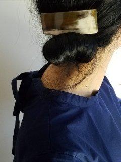 KOST KAMM(コストカム)バレッタ(Horm)about 10cm