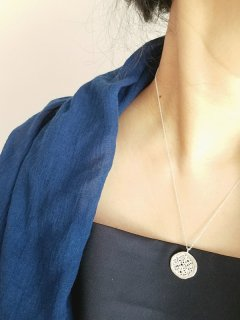 "DALVA(ダルヴァ) ネックレス ""Loom Necklace""  Silver"
