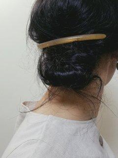 KOST KAMM(コストカム)バレッタ(Horm)スレンダーabout 10cm   【メール便指定可能】