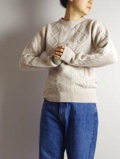 WILLIAM LOCKIE(ウィリアムロッキー) クルーネックセーター