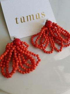 tamas(タマス)ピアス  Shalala Red