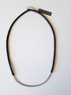 saami crafts (サーミクラフト) 三つ編みロングレザーネックレス(70cm)V242