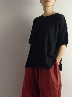 maison de soil(メゾンドソイル)  クルーネックTシャツ  【ネコポス指定可能】