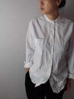 Vas-y Lentement(ヴァジー・ラントマン) バンドカラーシャツ 【ネコポス指定可能】