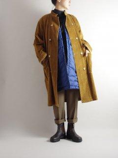 LANE FORTY FIVE (レーンフォーティーファイブ)スタンドカラーロングジャケット CORDUROY