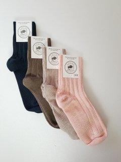 LOCAL ROOTS (ローカルルーツ) Socks / プレーンソックス(made in  Belgium)   【ネコポス指定可能】