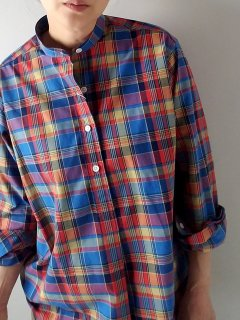 <img class='new_mark_img1' src='https://img.shop-pro.jp/img/new/icons8.gif' style='border:none;display:inline;margin:0px;padding:0px;width:auto;' />GRANDAD SHIRTS by James Mortimer (グランドシャツ ジェームスモルティマ) バンドカラーシャツ 長袖