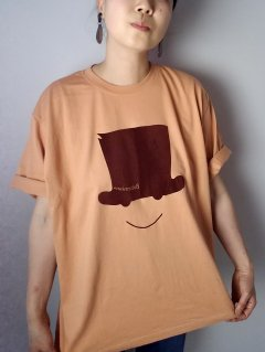 ★Bohemians(ボヘミアンズ) ルーズシルエット S/S Tシャツ  HAT&SMILE FLOCKY pt. 【ネコポス指定可能】