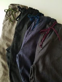 Bohemians(ボヘミアンズ) オリジナル別注 リネンジャガード イージーパンツ LINEN JQ EASY PANTS