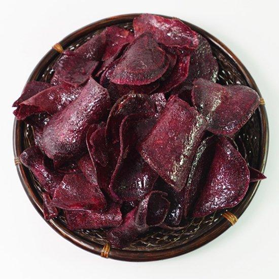 紫芋ぽりぽり