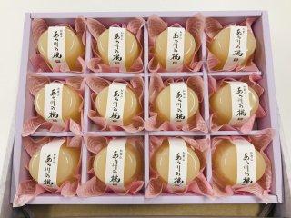 和歌山あら川の桃ゼリー(化粧箱入り)