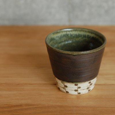 和柄 焼酎カップ まめ / 山田 直恵