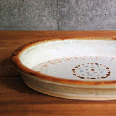 耐熱 楕円皿 / 松浦 唱子