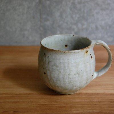 ナラ灰釉 丸マグカップ / 櫻井 薫