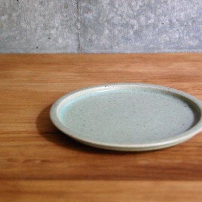 5寸リム皿(グリーン) / こいずみ みゆき