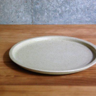 6寸リム皿(ベージュ) / こいずみ みゆき