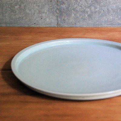 8寸リム皿(白) / こいずみ みゆき