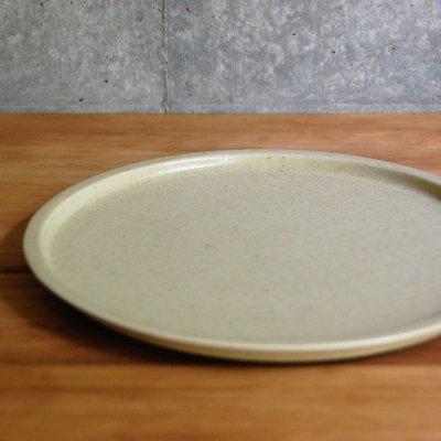 8寸リム皿(ベージュ) / こいずみ みゆき