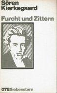 Furcht und Zittern <br>Soeren Kierkegaard <br>独文 おそれとおののき <br>キェルケゴール