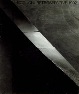 ISAMU NOGUCHI <br>RETROSPECTIVE 1992 <br>イサム・ノグチ展 <br>図録