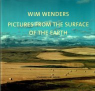 Pictures from <br>the Surface of the Earth <br>Wim Wenders <br>ヴィム・ヴェンダース