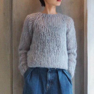 Maiami Mohair Basic Sweater マイアミ モヘアベーシックニット<img class='new_mark_img2' src='//img.shop-pro.jp/img/new/icons8.gif' style='border:none;display:inline;margin:0px;padding:0px;width:auto;' />