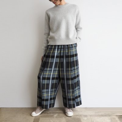 08sircus Buffalo Check Loose Pants バッファローチェックルーズパンツ<img class='new_mark_img2' src='//img.shop-pro.jp/img/new/icons8.gif' style='border:none;display:inline;margin:0px;padding:0px;width:auto;' />
