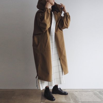 08sircus Pe/Co Weather long hoodie coat フーディコート<img class='new_mark_img2' src='https://img.shop-pro.jp/img/new/icons8.gif' style='border:none;display:inline;margin:0px;padding:0px;width:auto;' />
