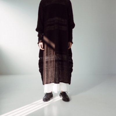 08sircus Mesh Border Knit Dress メッシュボーダーニットワンピース<img class='new_mark_img2' src='https://img.shop-pro.jp/img/new/icons8.gif' style='border:none;display:inline;margin:0px;padding:0px;width:auto;' />