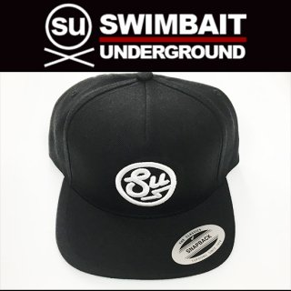 SWIMBAIT UNDERGROUND 5パネルキャップ サークルロゴスナップバックキャップ<img class='new_mark_img2' src='https://img.shop-pro.jp/img/new/icons1.gif' style='border:none;display:inline;margin:0px;padding:0px;width:auto;' />