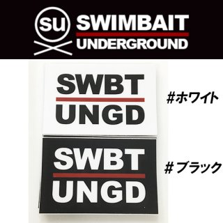 SWIMBAIT UNDERGROUND イニシャルステッカー<img class='new_mark_img2' src='https://img.shop-pro.jp/img/new/icons1.gif' style='border:none;display:inline;margin:0px;padding:0px;width:auto;' />