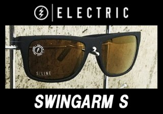 【ELECTRIC FISHING SUNGLASS】 SWINGARM S/MATTE BLACK/OHM+P BRZ<img class='new_mark_img2' src='https://img.shop-pro.jp/img/new/icons25.gif' style='border:none;display:inline;margin:0px;padding:0px;width:auto;' />