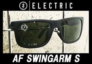 【ELECTRIC FISHING SUNGLASS】AF SWINGARM S/MATTE BLACK/OHM POLAR GREY<img class='new_mark_img2' src='https://img.shop-pro.jp/img/new/icons25.gif' style='border:none;display:inline;margin:0px;padding:0px;width:auto;' />