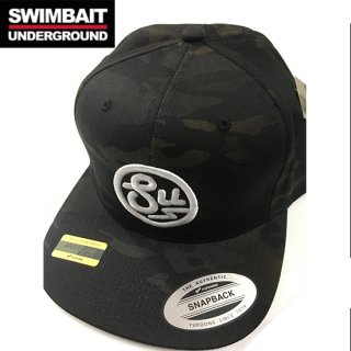 SWIMBAIT UNDERGROUND Circle SU Black Multicam Snapback(ブラックマルチカモ)<img class='new_mark_img2' src='//img.shop-pro.jp/img/new/icons1.gif' style='border:none;display:inline;margin:0px;padding:0px;width:auto;' />