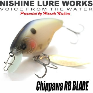 NISHINE LURE WORKS チッパワRB BLADE<img class='new_mark_img2' src='https://img.shop-pro.jp/img/new/icons1.gif' style='border:none;display:inline;margin:0px;padding:0px;width:auto;' />