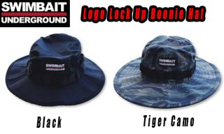 SWIMBAIT UNDERGROUND Logo Lock Up Boonie Hat <img class='new_mark_img2' src='https://img.shop-pro.jp/img/new/icons1.gif' style='border:none;display:inline;margin:0px;padding:0px;width:auto;' />