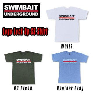 SWIMBAIT UNDERGROUND Logo Lock Up Tシャツ<img class='new_mark_img2' src='//img.shop-pro.jp/img/new/icons1.gif' style='border:none;display:inline;margin:0px;padding:0px;width:auto;' />