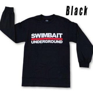 SWIMBAIT UNDERGROUND Logo Lock Up ロングスリーブTシャツ<img class='new_mark_img2' src='https://img.shop-pro.jp/img/new/icons1.gif' style='border:none;display:inline;margin:0px;padding:0px;width:auto;' />