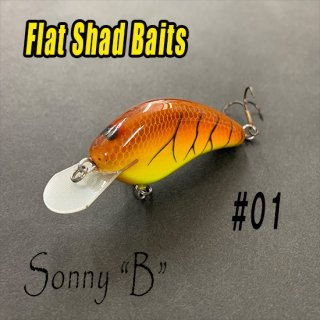 Flat Shad Baits/Sonny B<img class='new_mark_img2' src='//img.shop-pro.jp/img/new/icons25.gif' style='border:none;display:inline;margin:0px;padding:0px;width:auto;' />