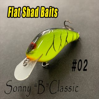 Flat Shad Baits/Sonny B Classicモデル<img class='new_mark_img2' src='//img.shop-pro.jp/img/new/icons25.gif' style='border:none;display:inline;margin:0px;padding:0px;width:auto;' />