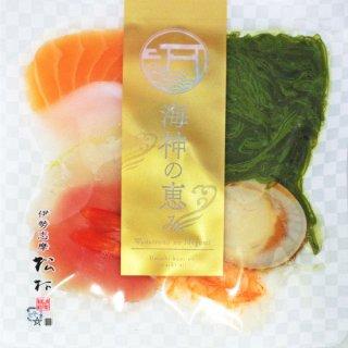 【冷凍】黒潮海鮮丼 (サーモン,イカ,鯛,マグロ,海老,めかぶ,ホタテ)